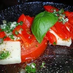 Appetizers And Snacks – Mozzarella And Tomato Appetizer Tray