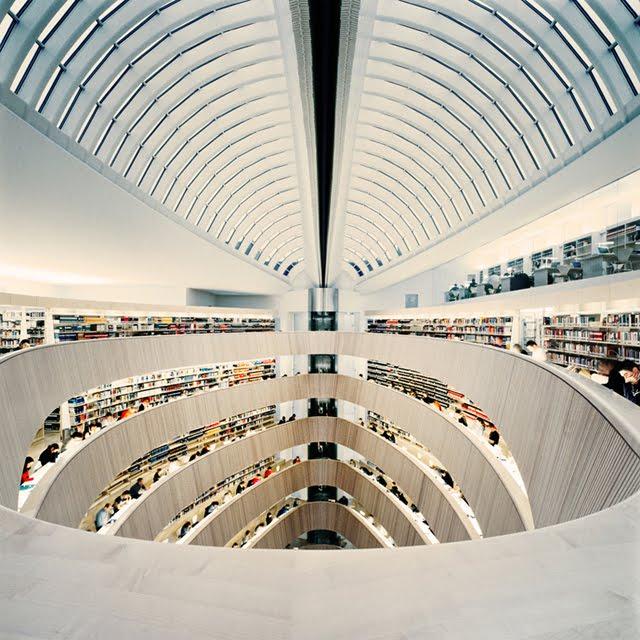 Zurich University Library, Switzerland