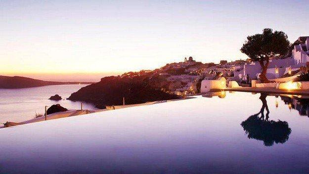 Hotel Kirini at Santorini, Greece
